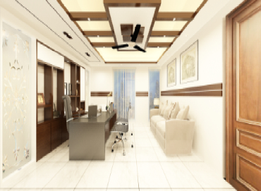 CEO Desk Design for JSS Service Ltd by Interior Studio Ace