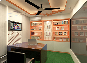 CEO Desk Design for PM Aspire by Interior Studio Ace
