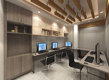 Modular Work Station Design for Corporate Office of Izme