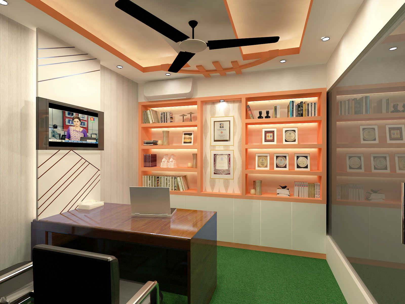 Corporate office interior design by Interior Studio Ace at PMaspire Limited