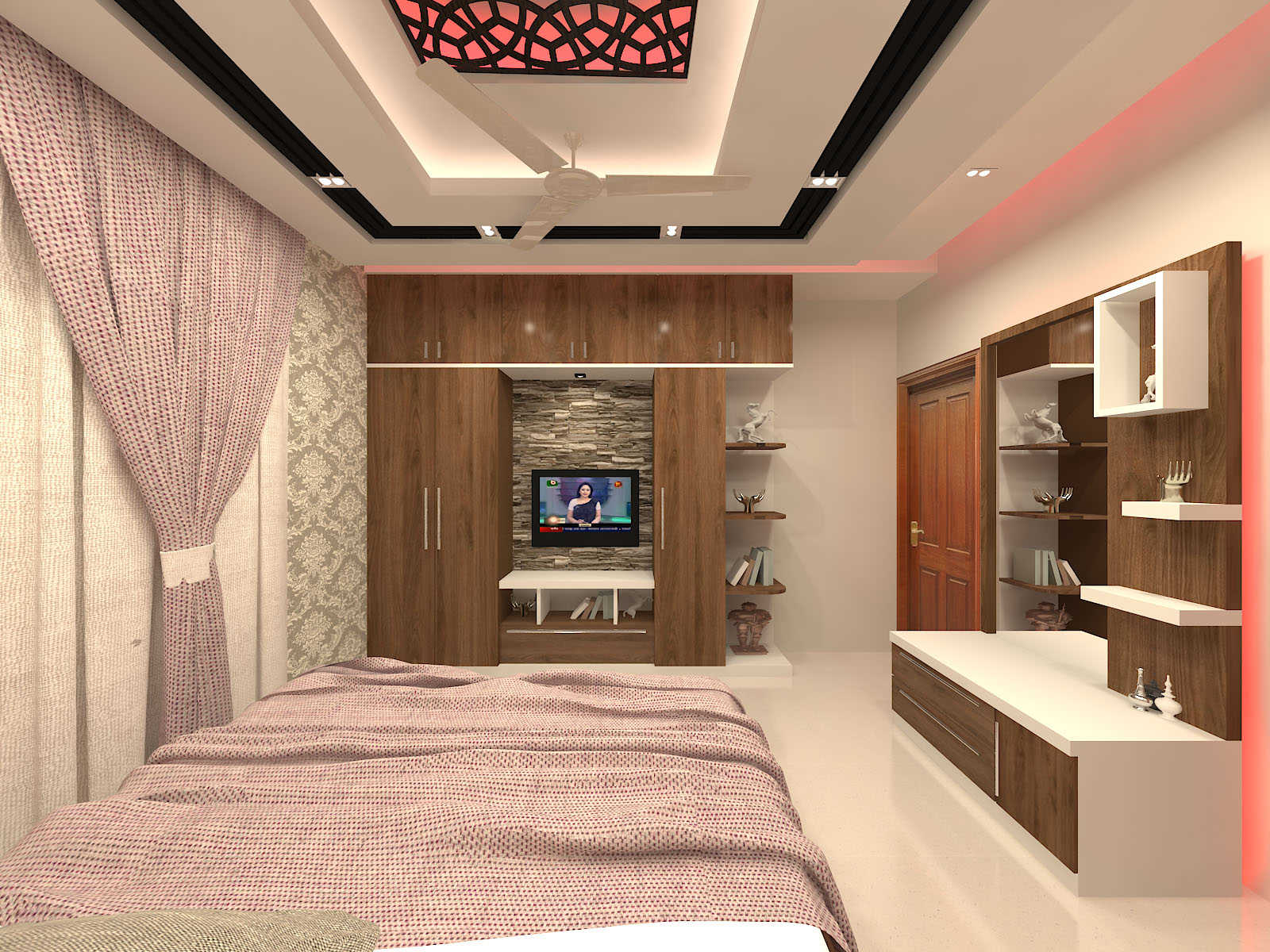 Bedroom design at Mr. Forhad's residence