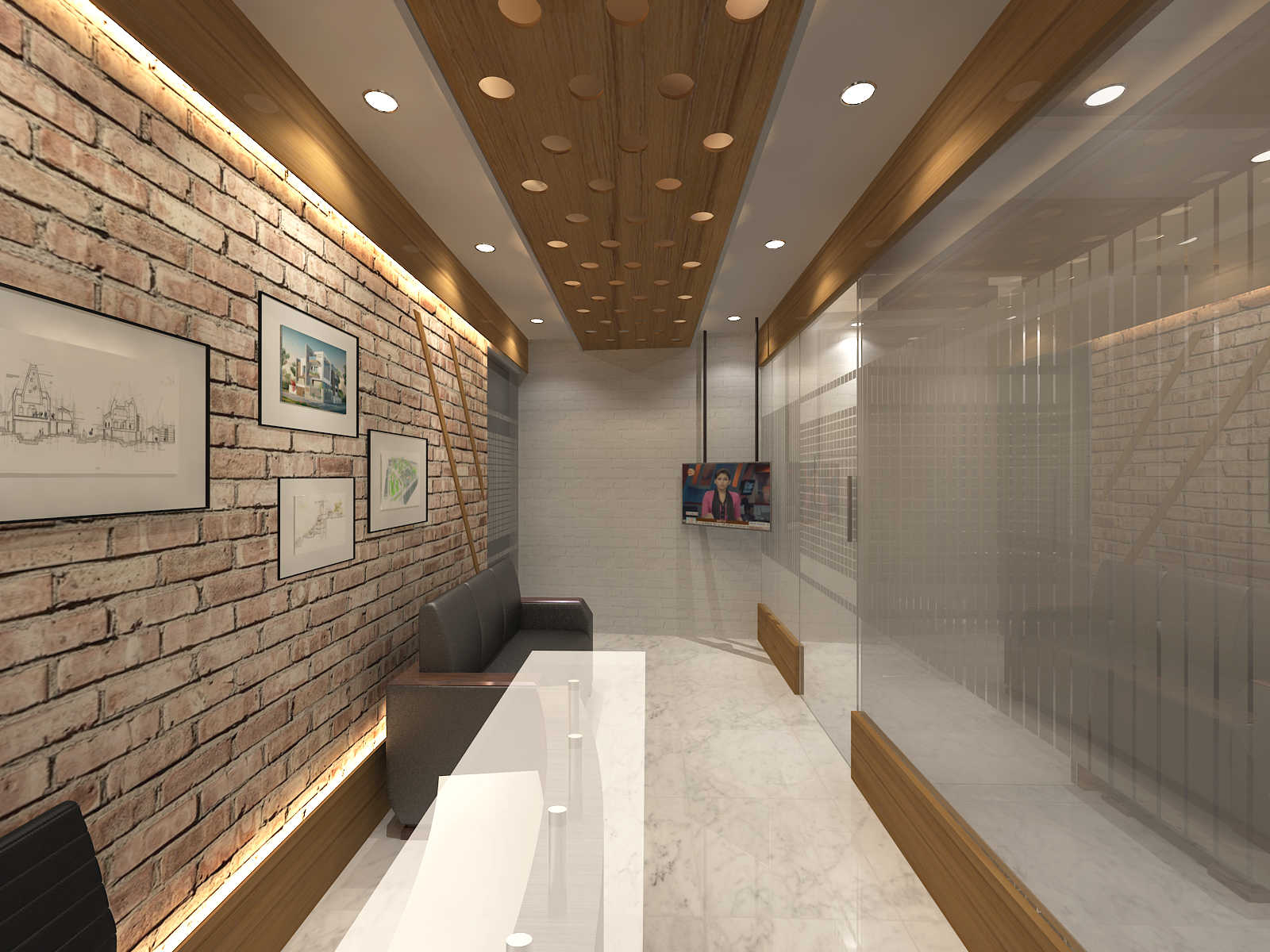 Job Completed for Corporate office interior design work ...