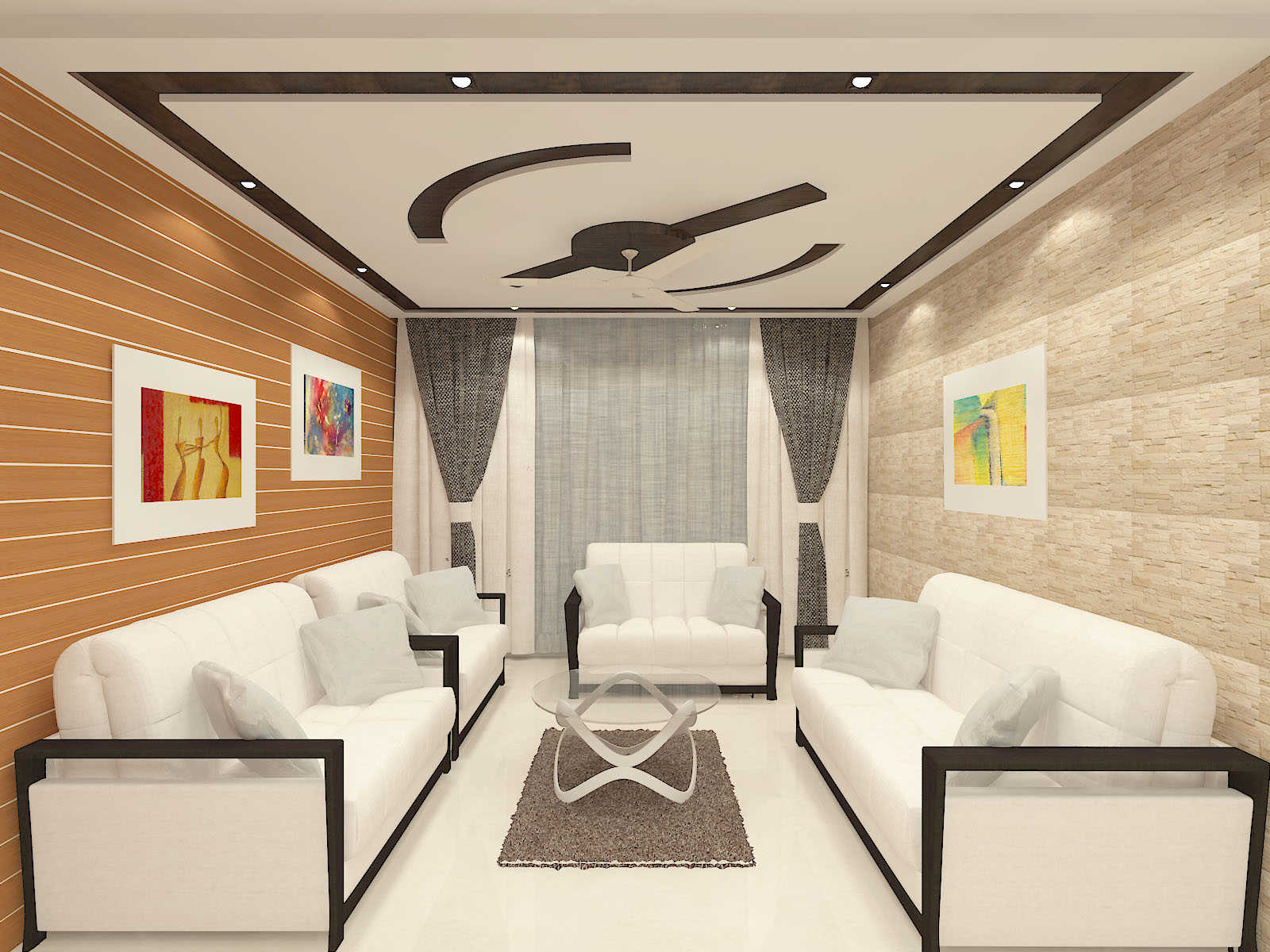 Home interior design at Dr. Shafiqul Bari's residence