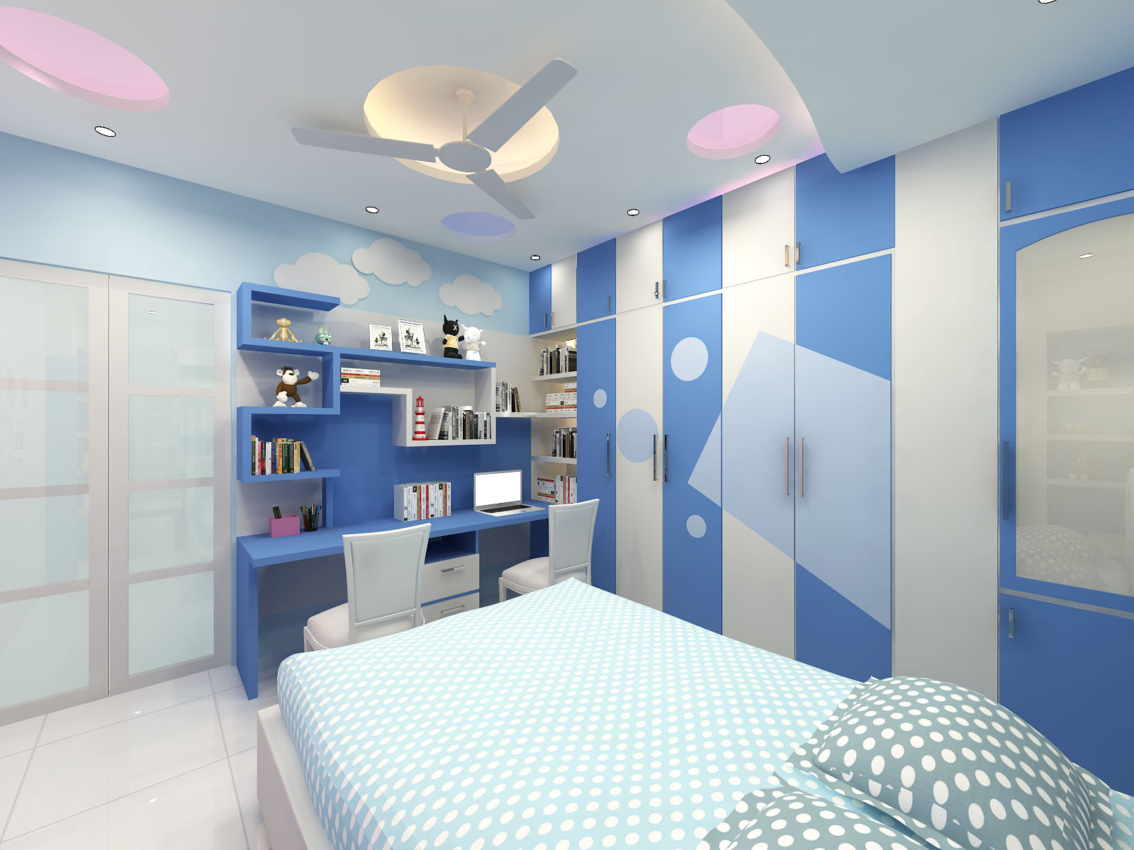 Child's Bedroom Interior Design by Interior Studio Ace