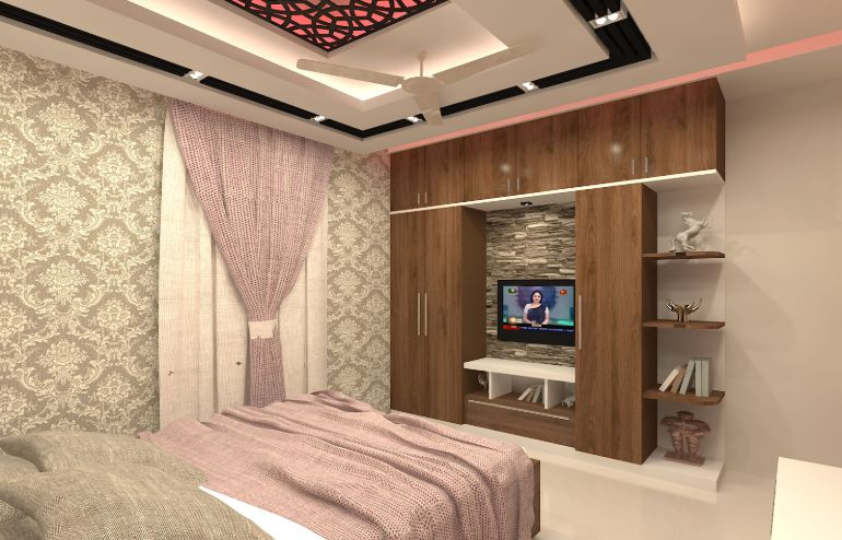 Bed room design for Mr Forhad house by Interior Studio Ace-3