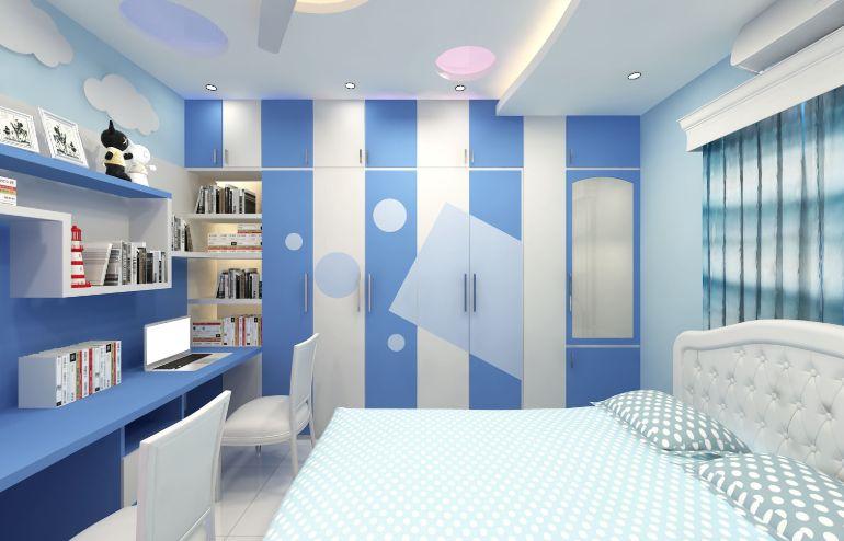 Child Bedroom Design In Dhaka Bangladesh