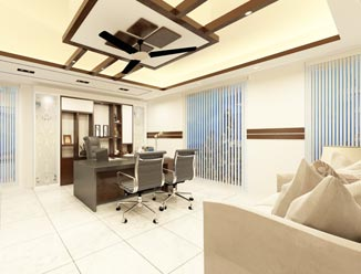 Job completed for Office interior of JSS Services Ltd