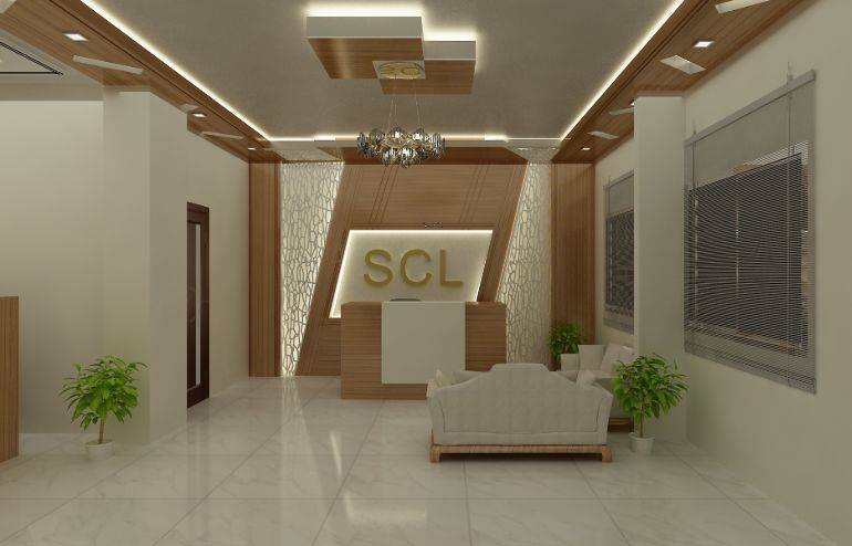 Successfully completed beautiful reception space design for SCL Development